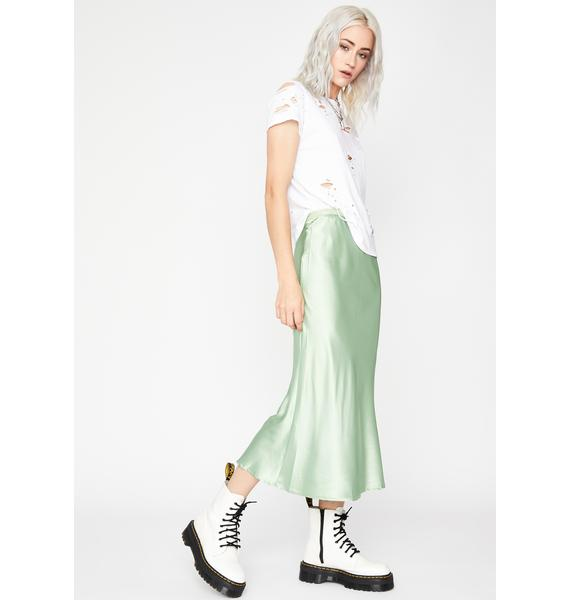 Mint Mainstream Mami Midi Skirt