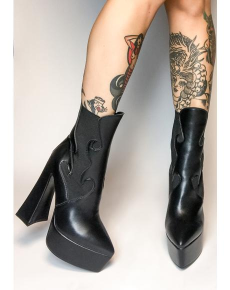 Set Me Off Heeled Boots
