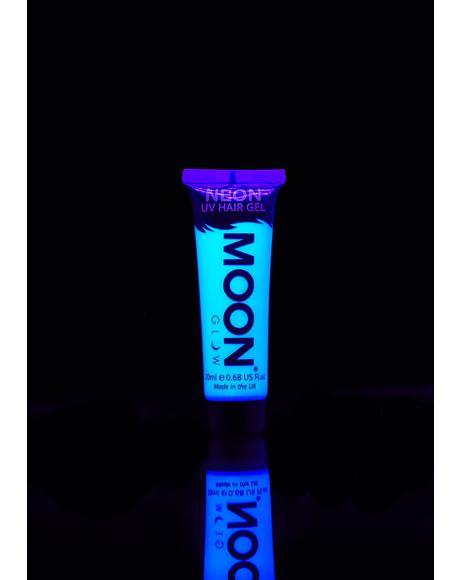 Neon Intense Blue UV Hair Gel