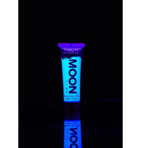 Moon Creations Neon Intense Blue UV Hair Gel