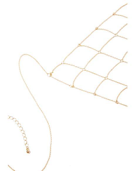 Delicate Specimen Chain Bralette