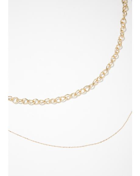 It'z Fab Chain Necklace