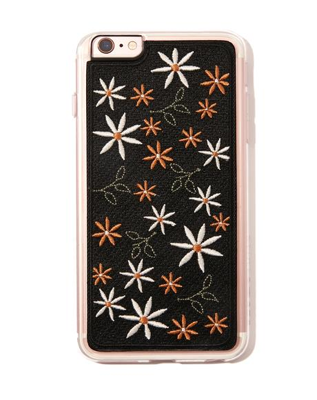 Wander Embroidered iPhone Case