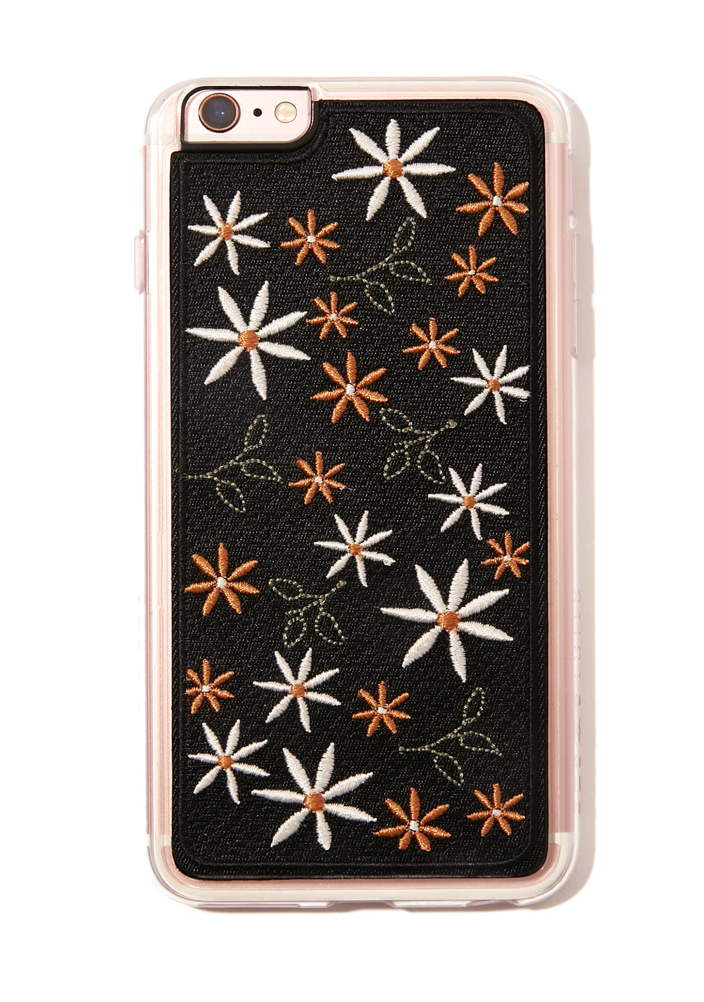 Zero Gravity Wander Embroidered iPhone Case
