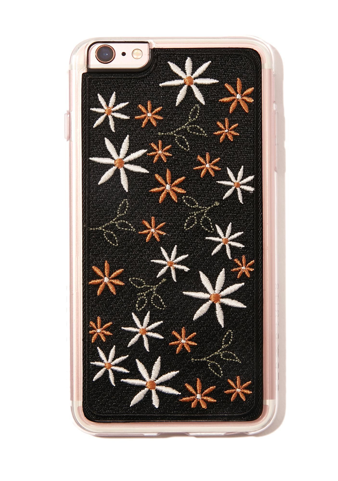 Zero Gravity Wander Embroidered iPhone Case