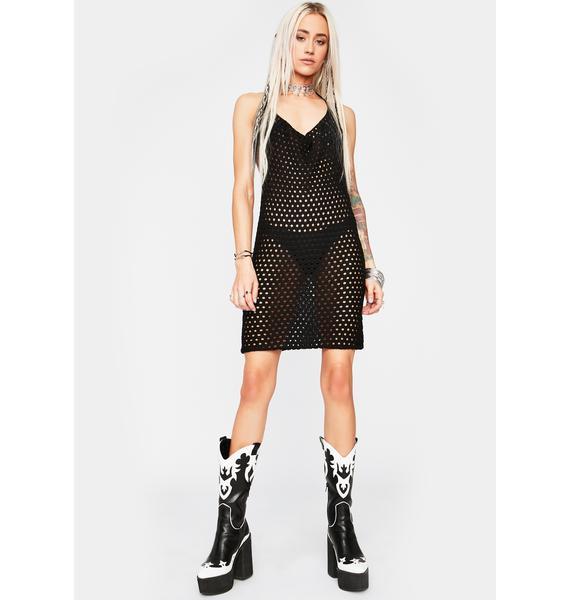 Rideout Road Crochet Dress
