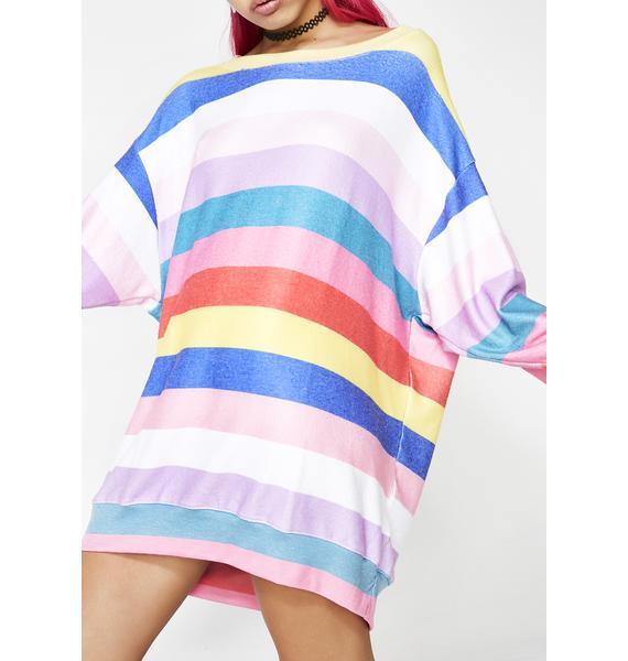 Wildfox Couture Castaway Stripe Roadtrip Sweater