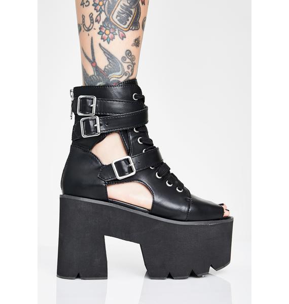 Killstar Charmed Cut Out Boots