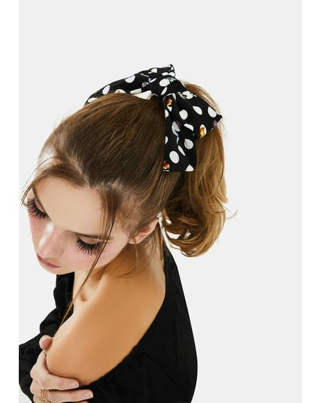 Meet Me At Sunset Bow Hair Clip