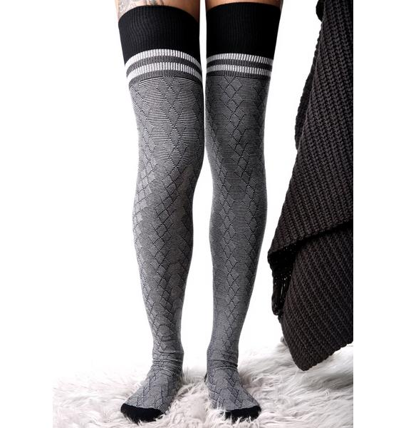 Stance Fine Line Thigh-High Socks