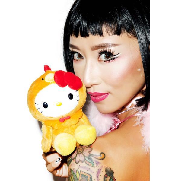 Sanrio Farm Friends Hello Kitty Chicken Plush