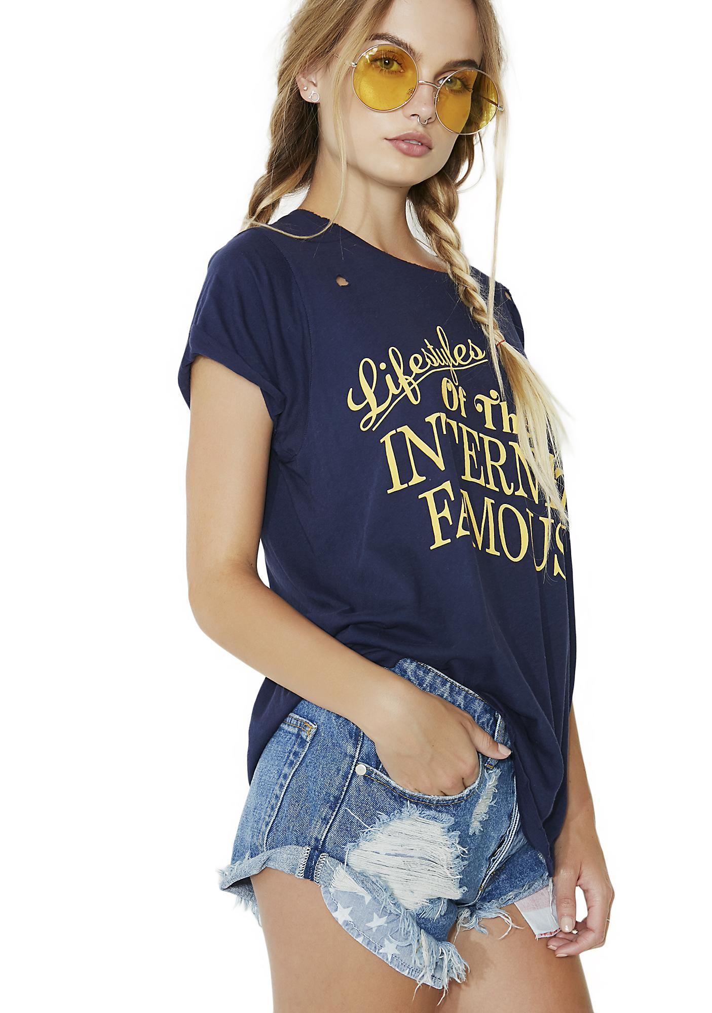 Wildfox Couture Internet Famous Crew Tee