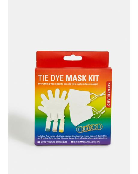 DIY Tie Dye Protective Mask Kit