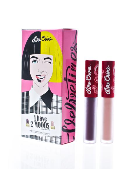 2 Moods Velvetine Liquid Lipstick Duo