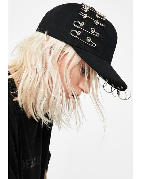 Punk Player Piercing Hat