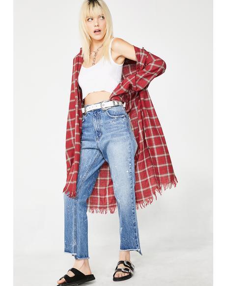 Artist Ara High Waist Mom Jeans