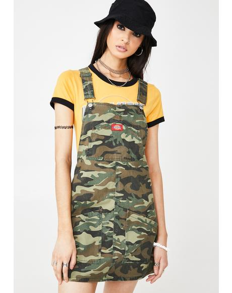 Camo Jumper Dress