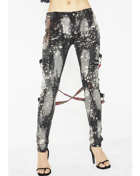 Bleached Chaos Pants