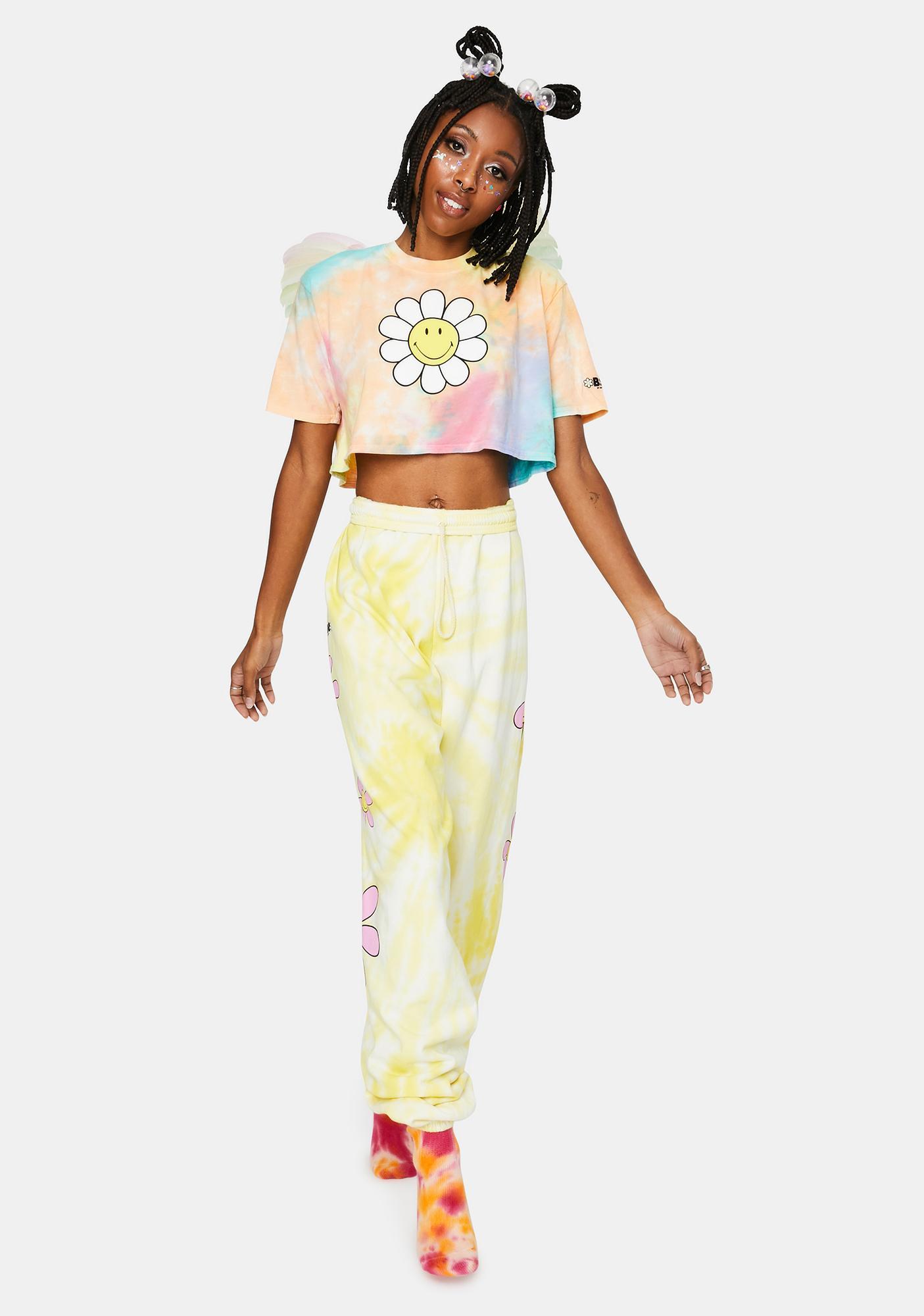 By Samii Ryan Hazy Daisy Tie Dye Sweatpants