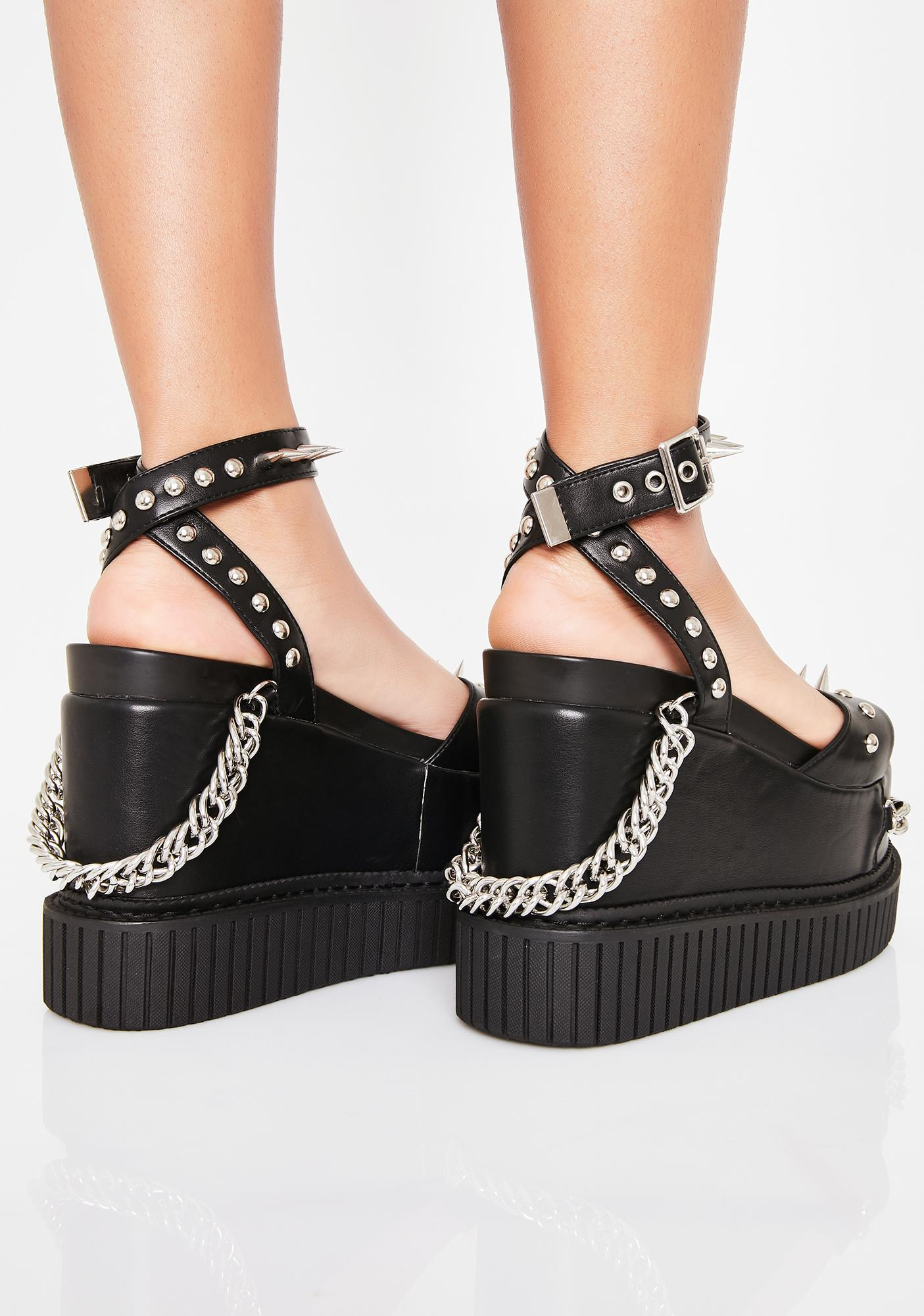 Lamoda Next Level Creeper Platform Sandals