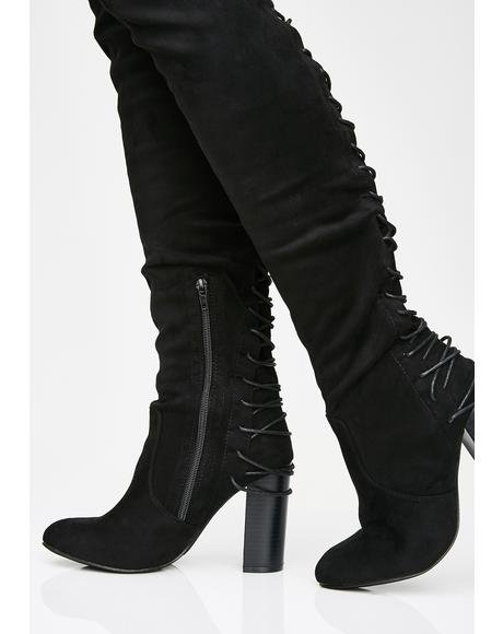 Dangerous Dollz Thigh High Boots