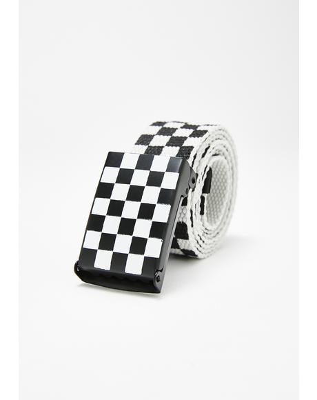 Dope Crowd Checkered Belt