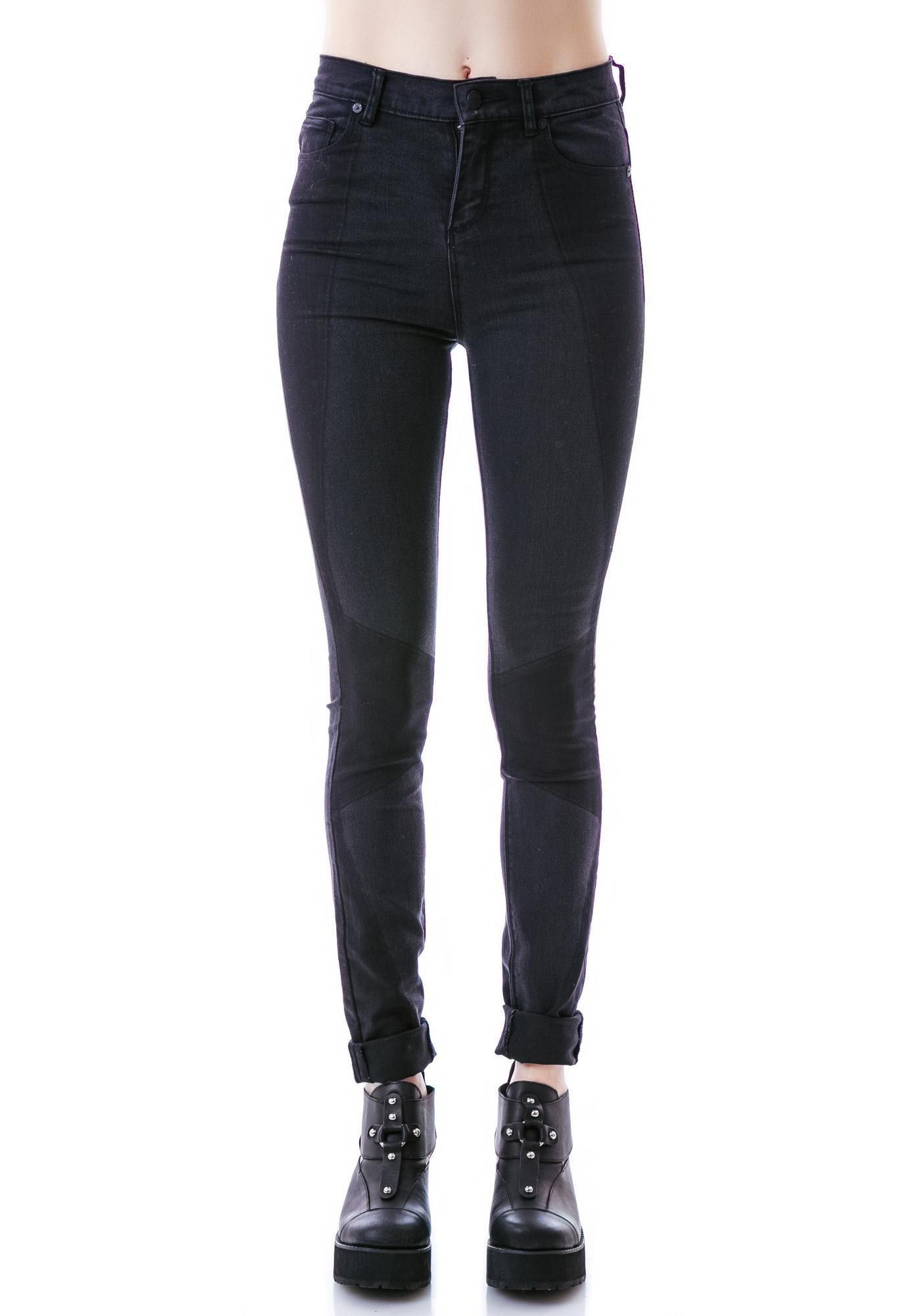 Zoe Karssen light wash skinny jeans In China Sale Online Discount 2018 New Sale Visit Visa Payment Free Shipping Recommend 89ClQm