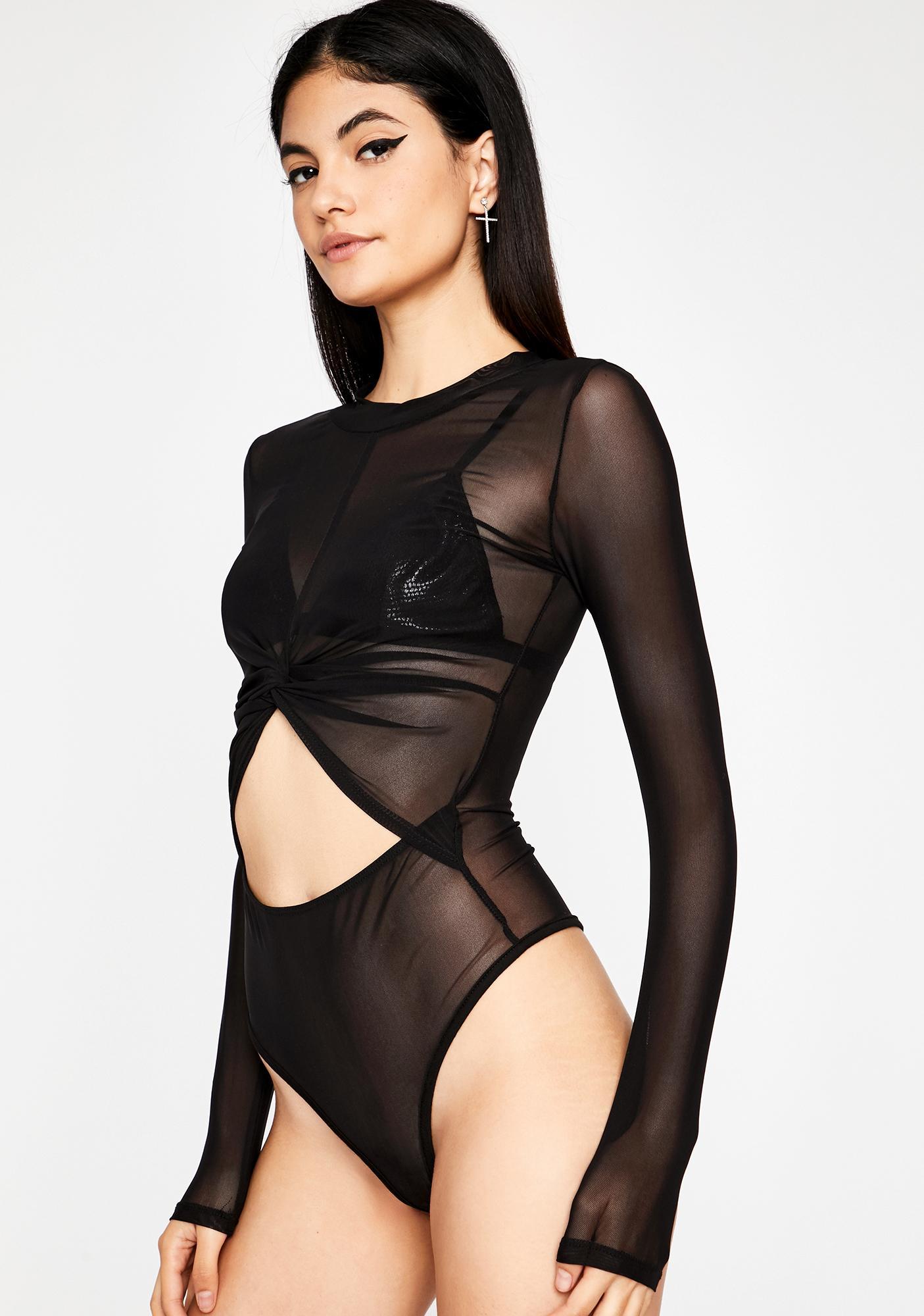 Bish Bye Sheer Bodysuit