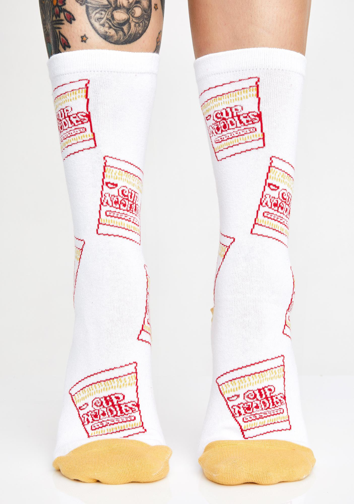 Oodles Of Cup Noodles Socks