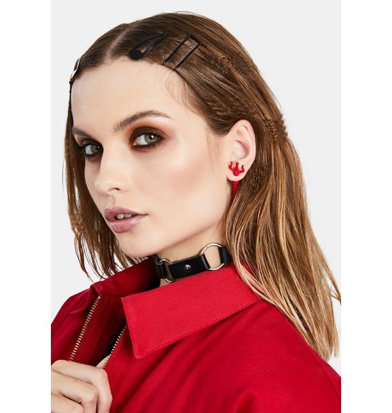 Devil's Call Earrings