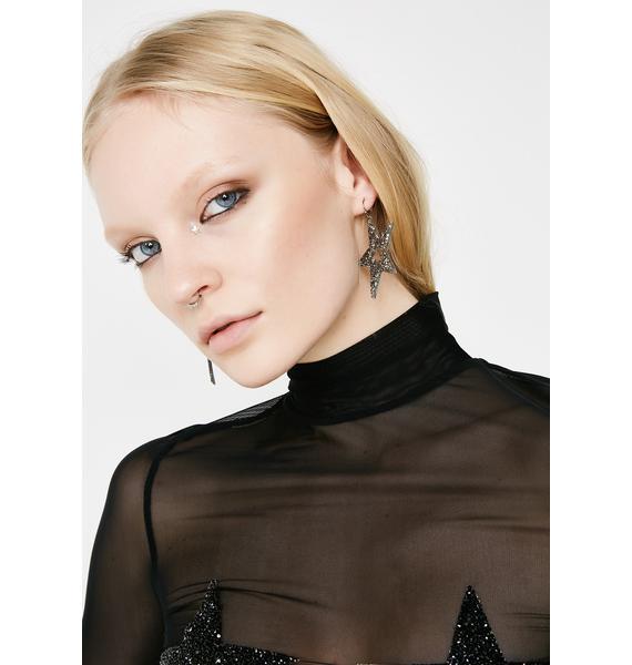 Polaris Star Earrings