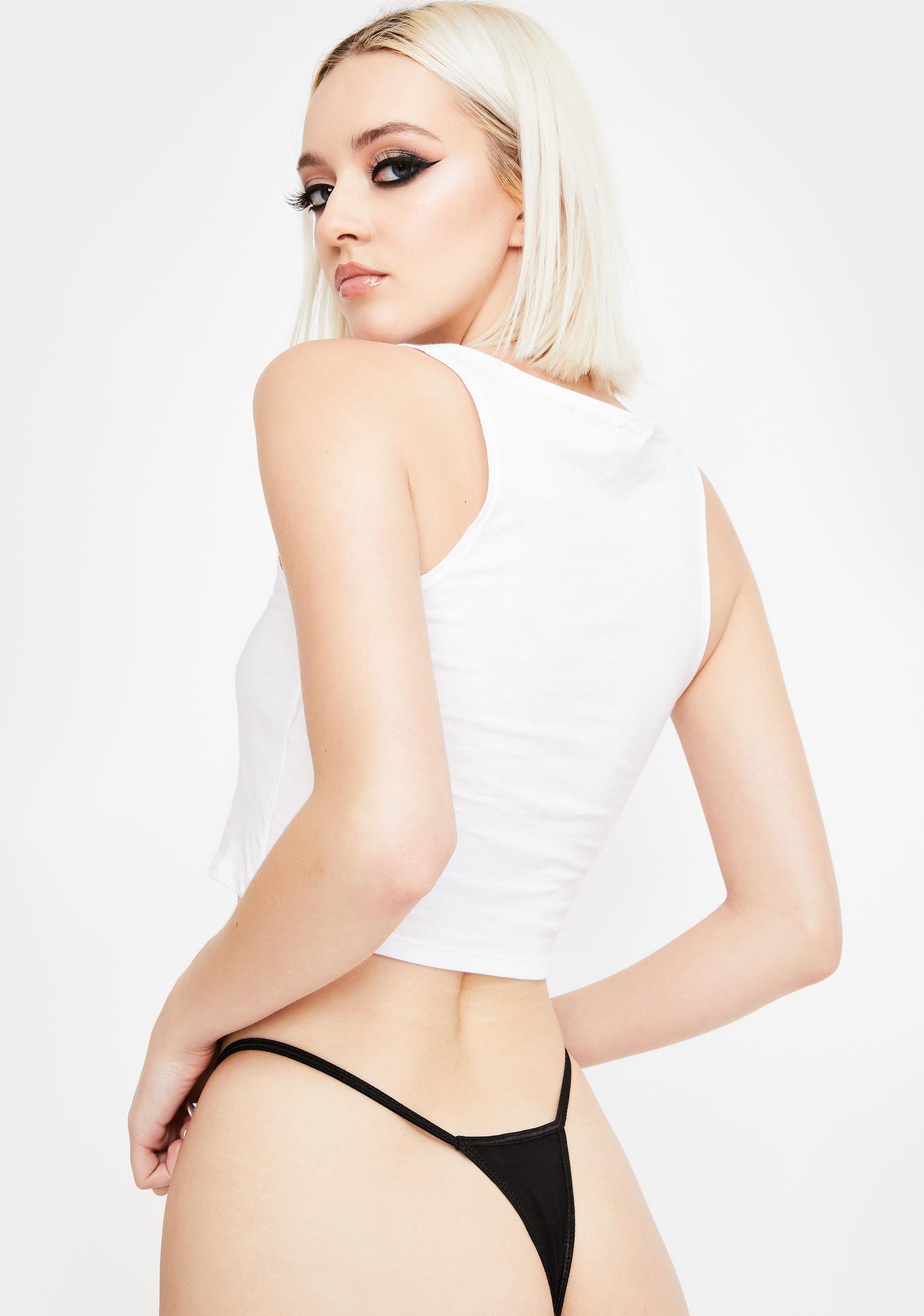 Geneva Diva Designer Pussy Graphic Thong