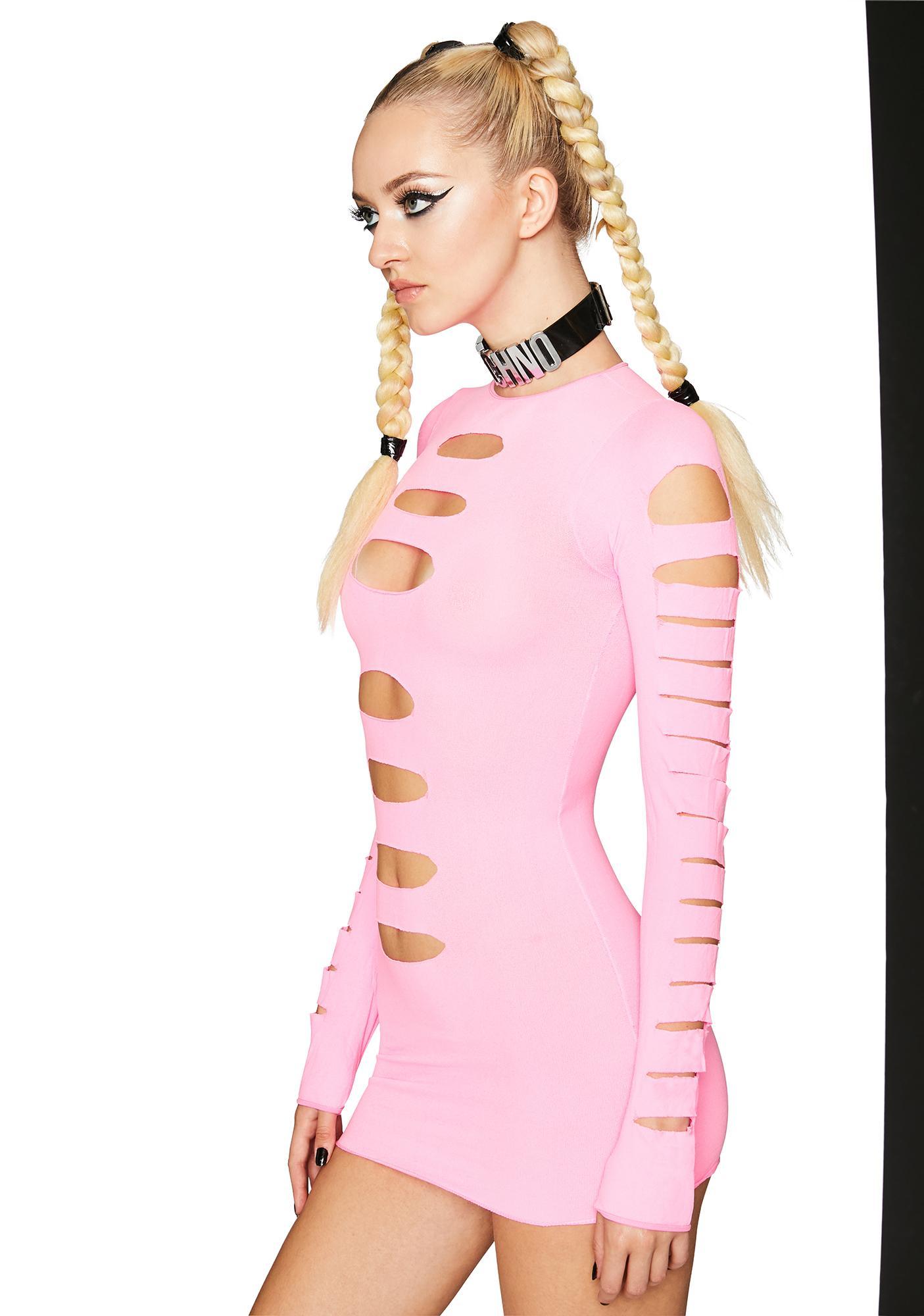 Rose Lady Galaxia Mini Dress