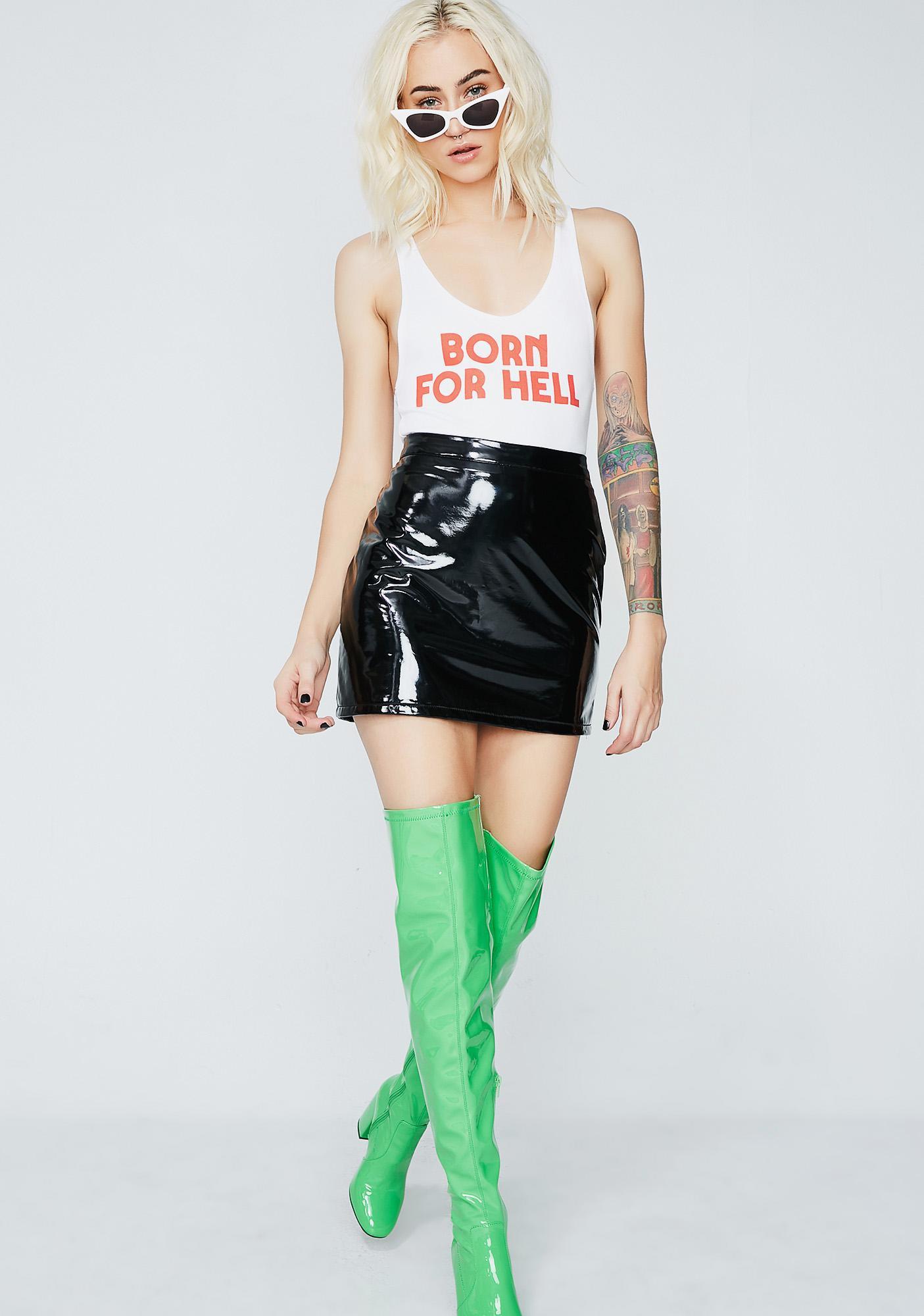 Creep Street Born 4 Hell Bodysuit