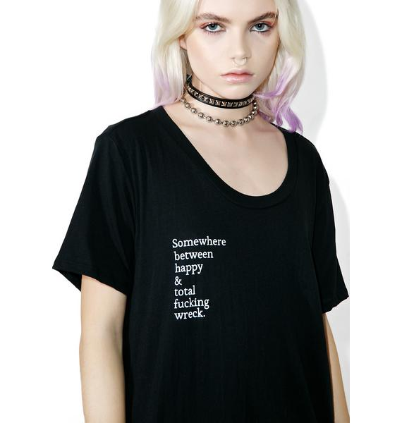 Balm Apparel Happy Wreck Tee