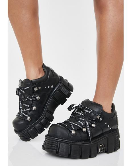Obscure Oasis Platform Boots
