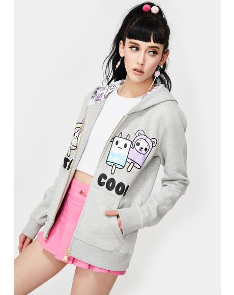 Stay Cool Zip Up Hoodie