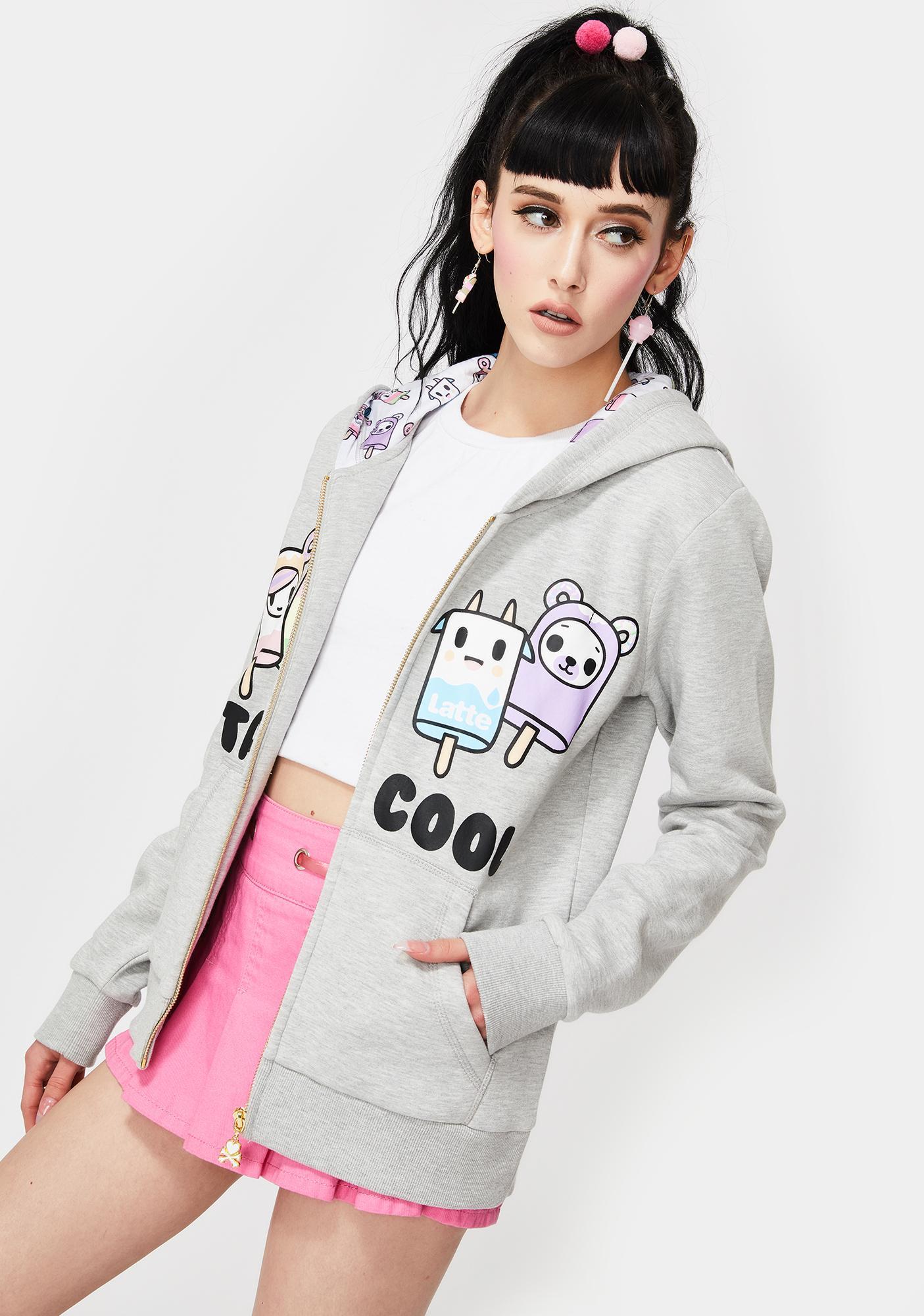 Tokidoki Stay Cool Zip Up Hoodie