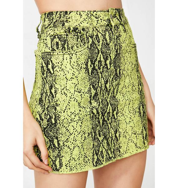 Atomic Lady Danger Mini Skirt