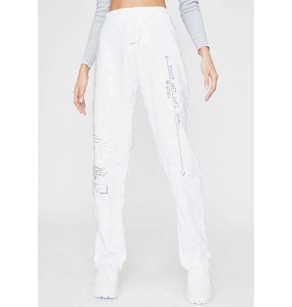 Riccetti Clothing Studio Notes Waterproof Pants