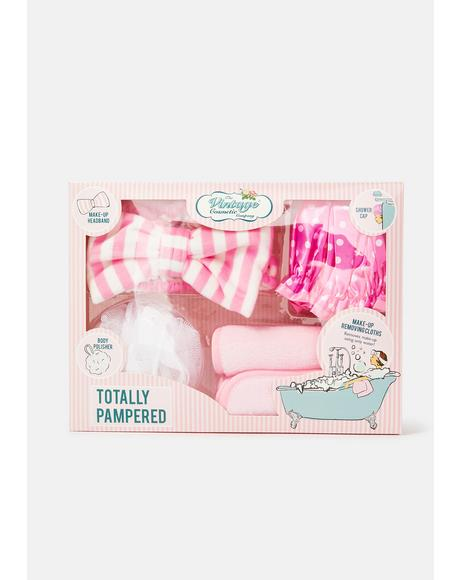 Pink Totally Pampered Spa Set