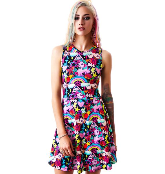 Killstar Kawaii Skater Dress