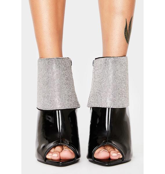 AZALEA WANG Milo Peep Toe Heels