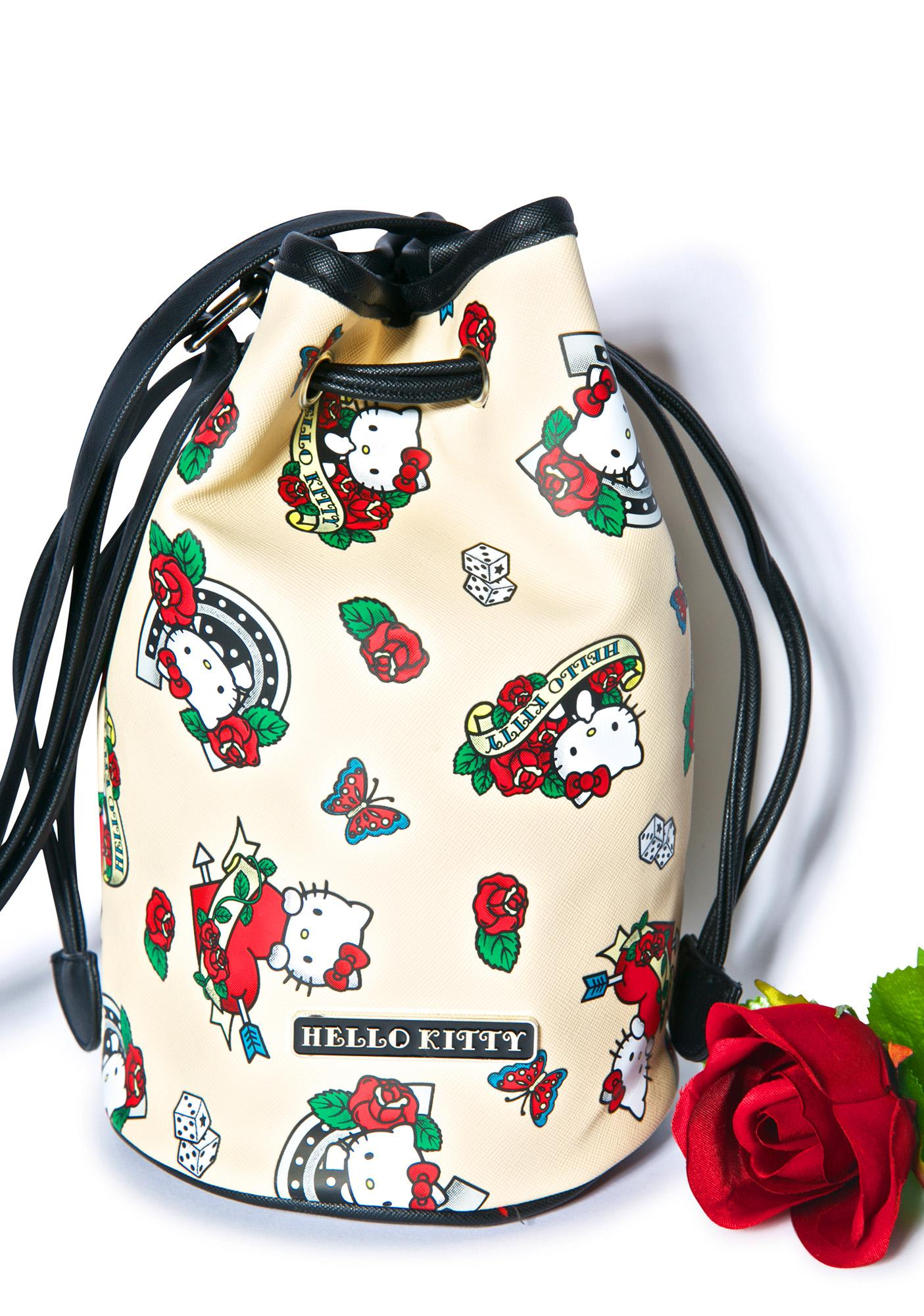 31b919dd81 ... Sanrio Hello Kitty Bucket Bag ...
