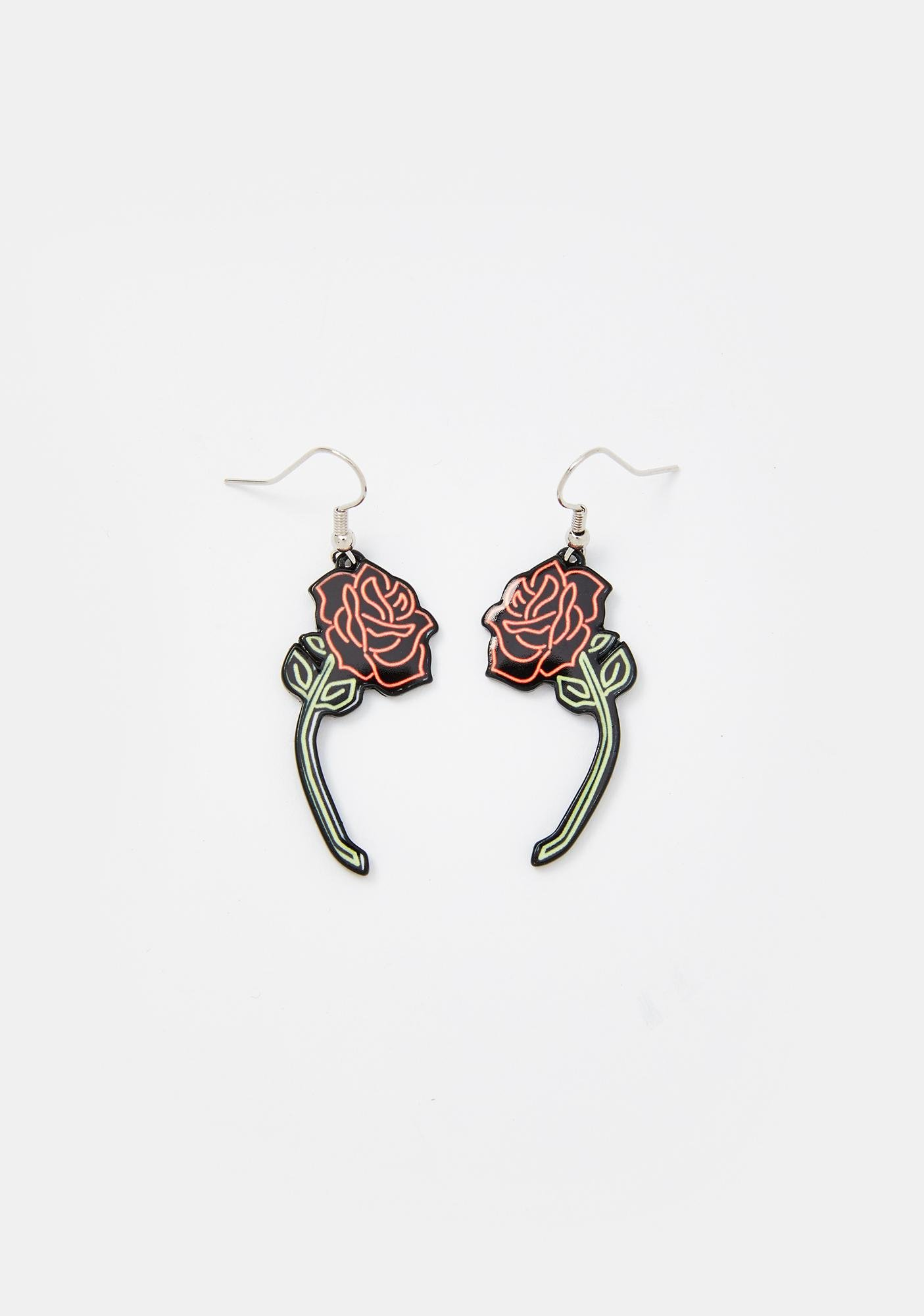 Nightwalker Romance Drop Earrings