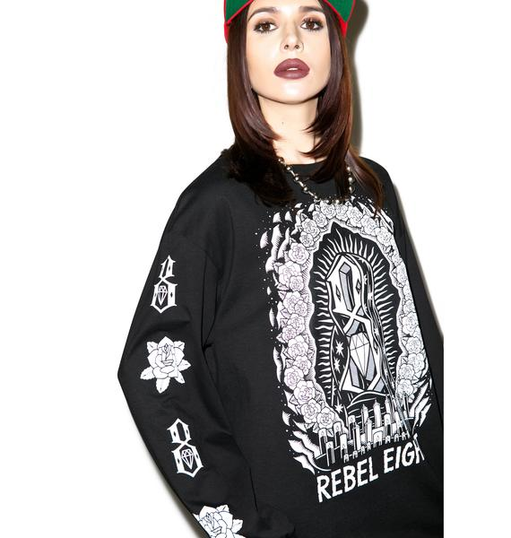 Rebel8 Worship Worthy Long Sleeve Tee