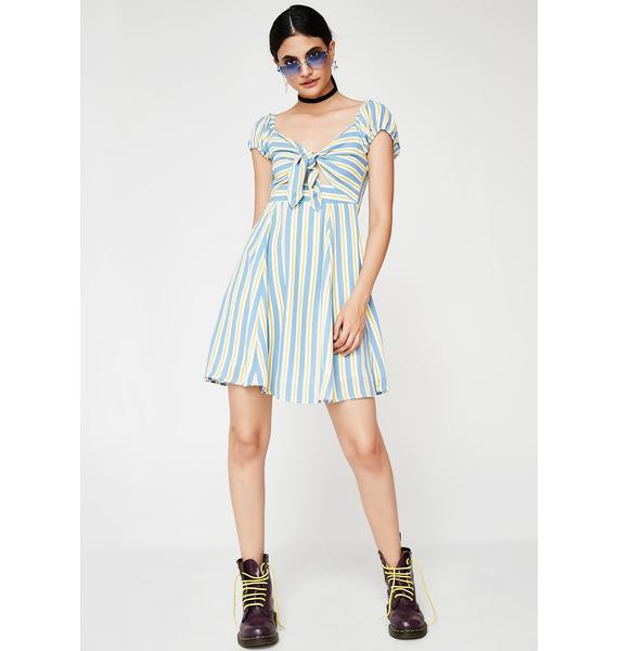 Take Me Away Stripe Dress