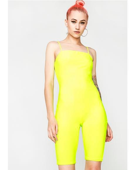 Neon So Devious Tank Jumpsuit