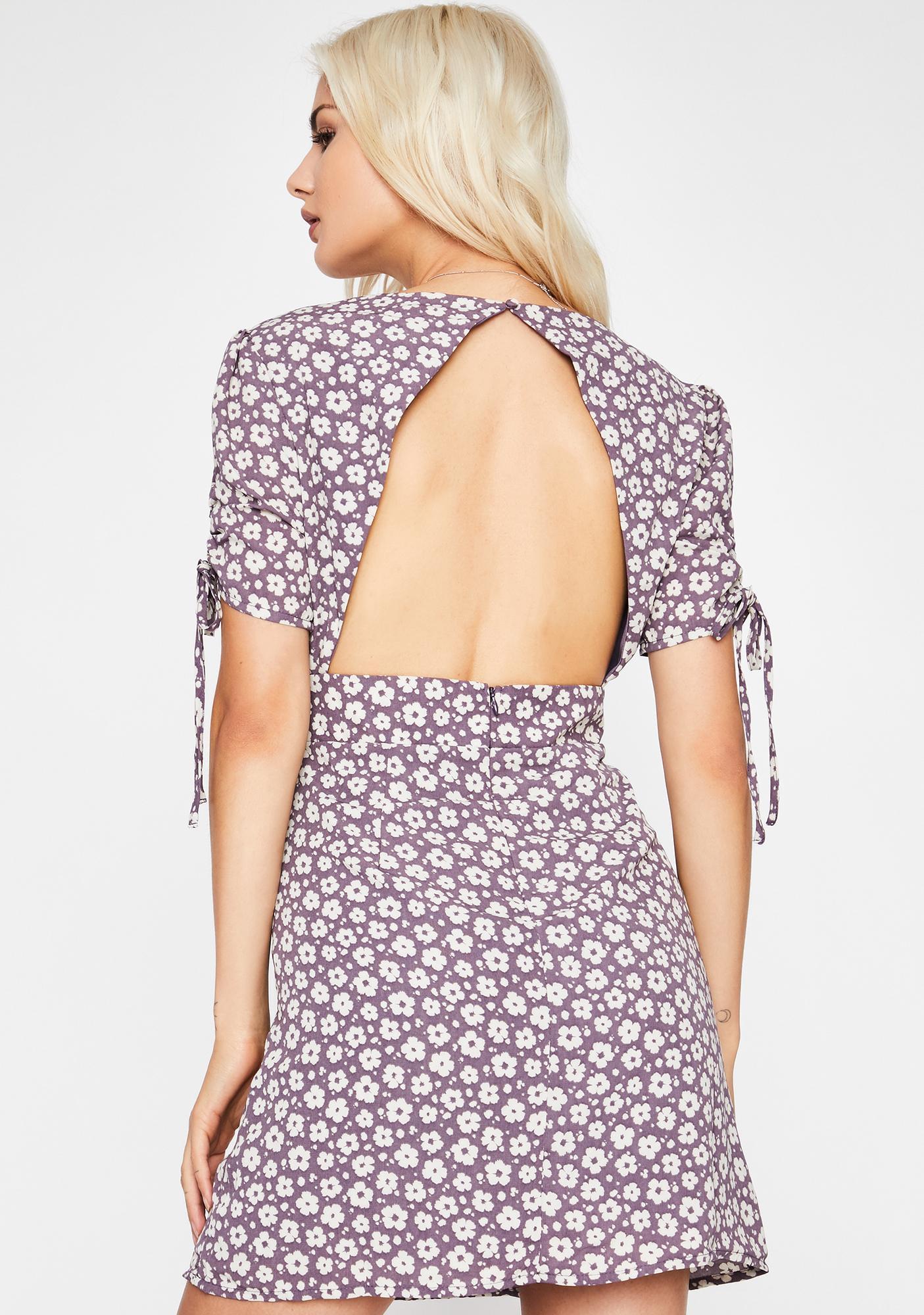 Hardly Hurtin' Floral Mini Dress