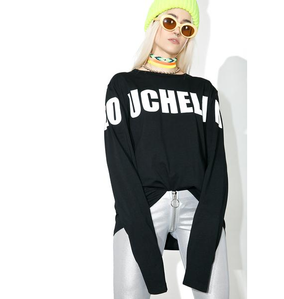 Vetememes Doucheland Long Sleeve Tee